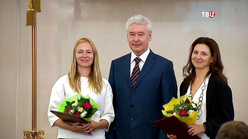Сергей Собянин вручил премии города в области архитектуры и градостроительства