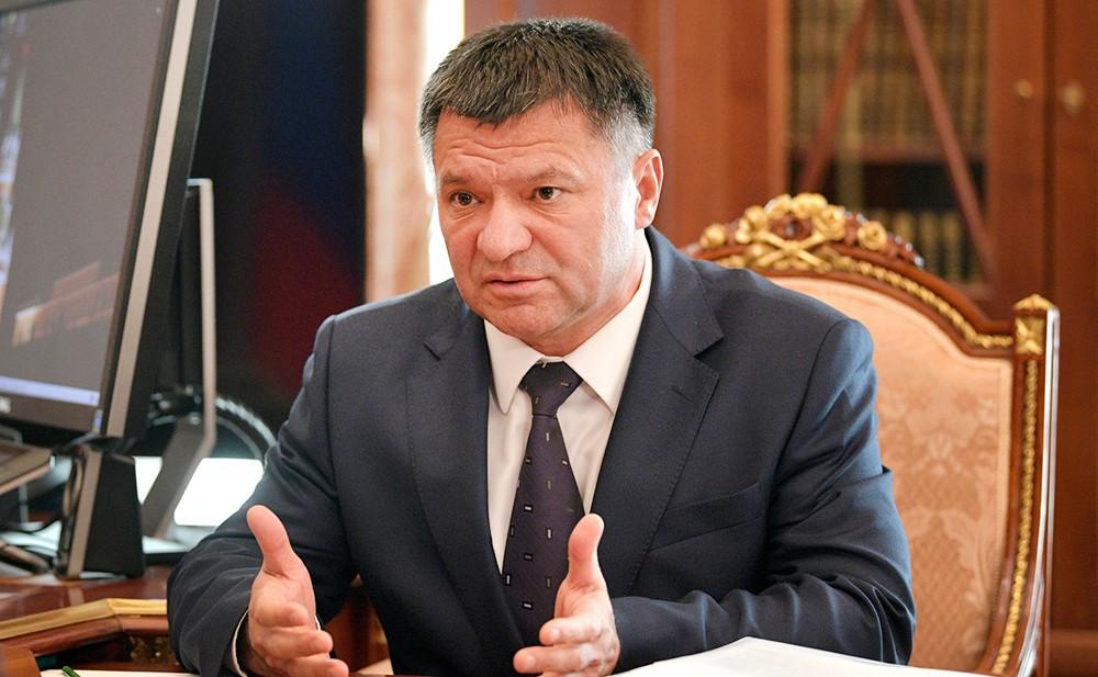 Врио губернатора Приморского края Андрей Тарасенко