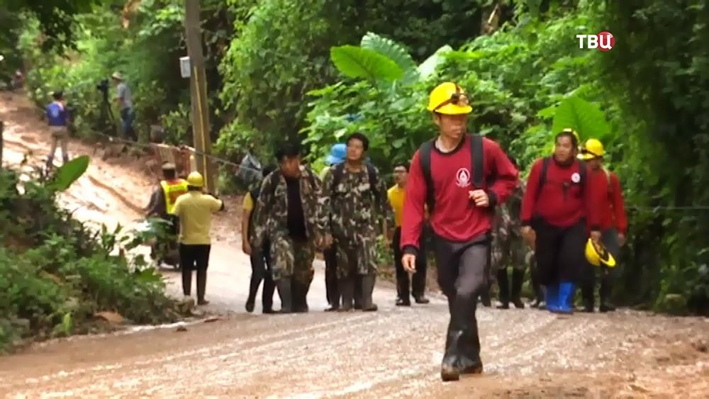 Спасатели Таиланда