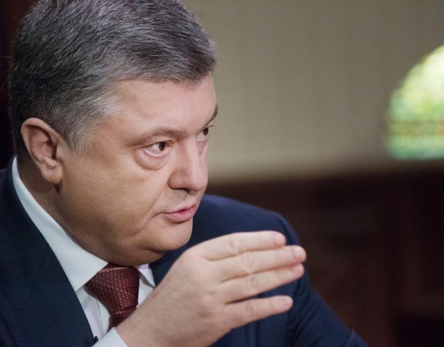 Президент Укрвины Пётр Порошенко