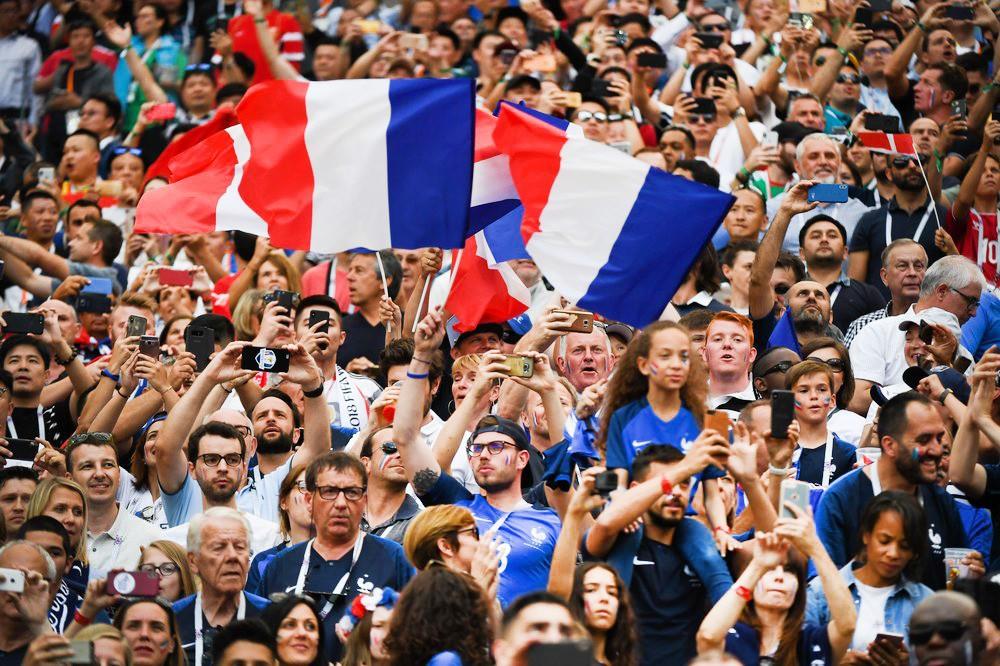 Болельщики Франции
