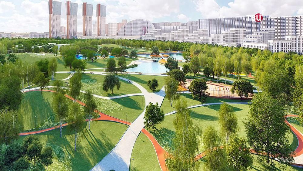 Проект парка на Ходынском поле