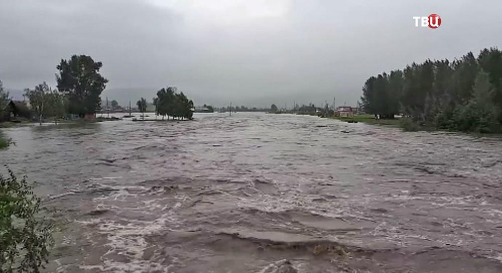 Паводки в Забайкалье