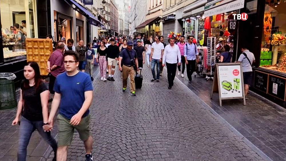 Жители Бельгии