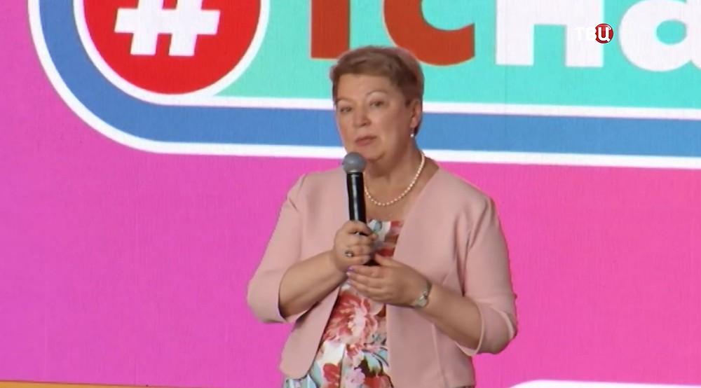 11 Васильева рассказала о цифровизации российских школ