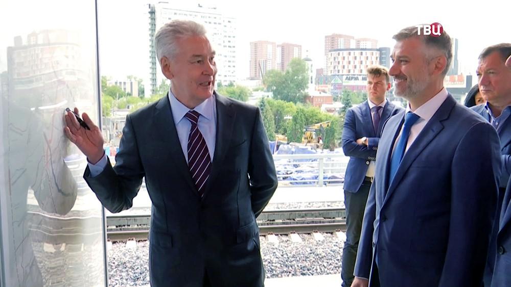 Сергей Собянин обсуждает транспортную карту Москвы