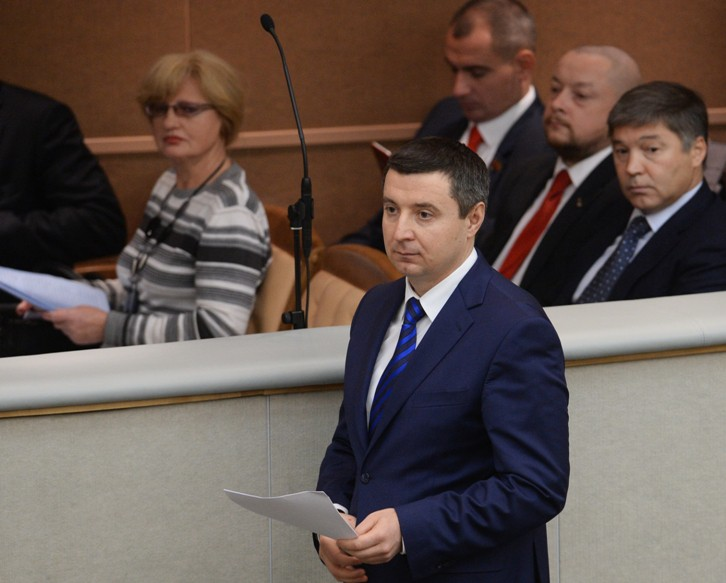 Заместитель министра труда и социальной защиты Российской Федерации Андрей Пудов