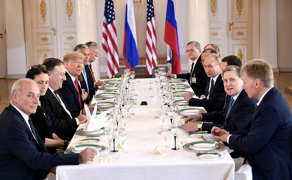 Саммит Россия - США