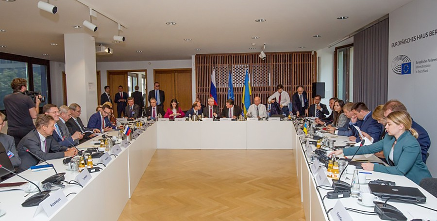 Трехсторонние переговоры России, Украины и Еврокомиссии по транзиту газа