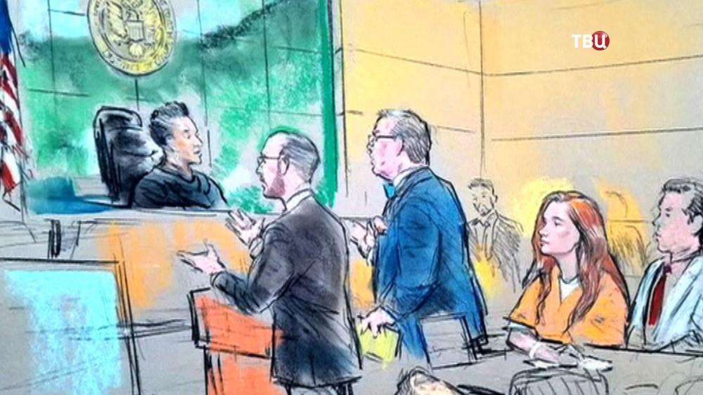 Мария Бутина в суде