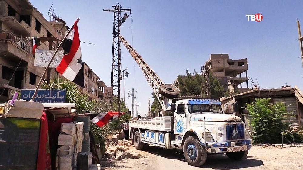 11 Как Сирия восстанавливает энергетическую инфраструктуру