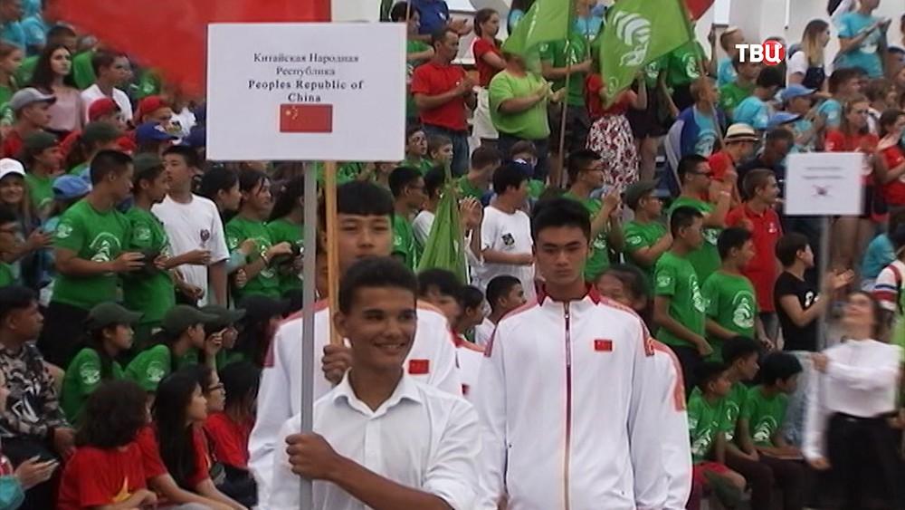 Открытие юношеских игр стран Азиатско-Тихоокеанского региона