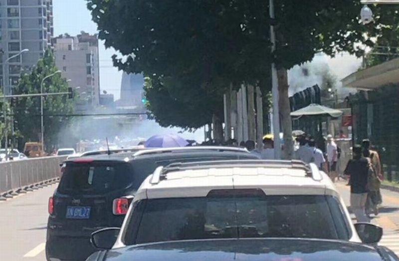 Взрыв у здания посольства США в Пекине