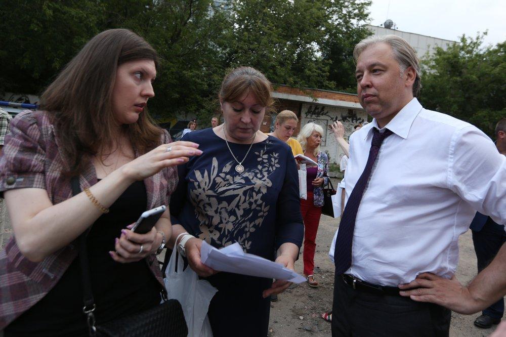 Встреча кандидата в мэры Вадима Кумина с жителями Бутырского района