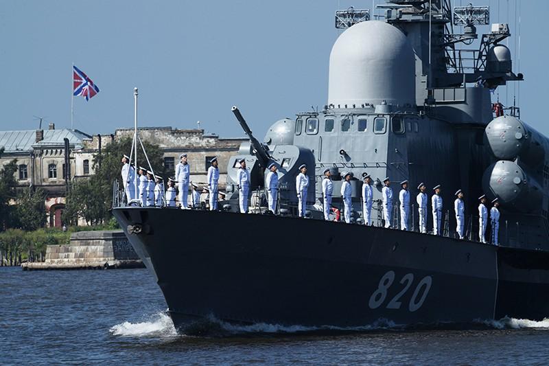День ВМФ России. Главный военно-морской парад в Санкт-Петербурге
