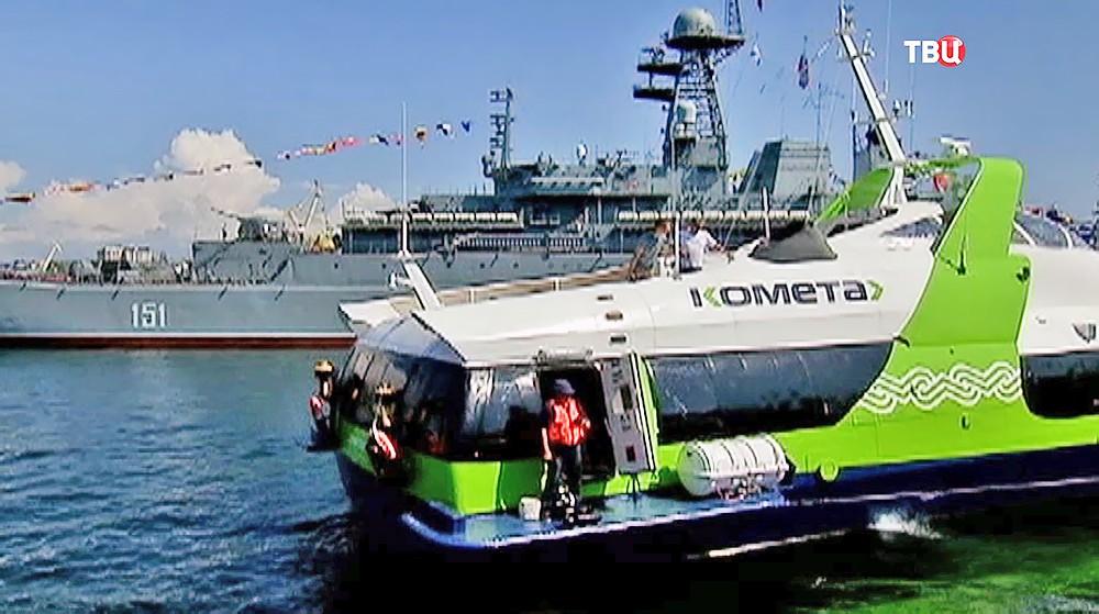 "Пассажирское судно ""Комета 120М"""