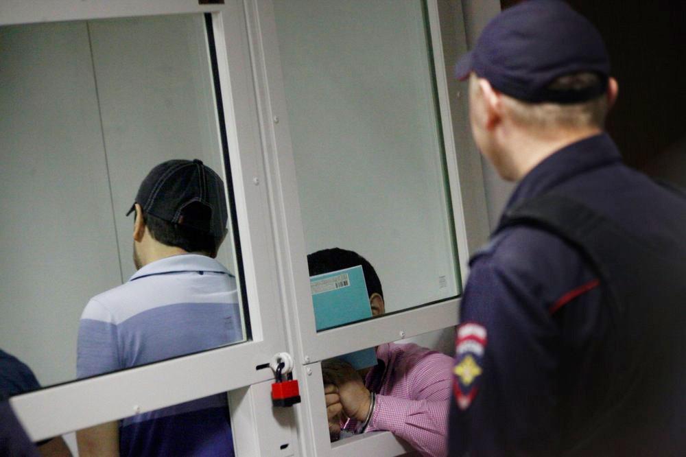 """Члены """"банды ГТА"""" в Мособлсуде"""