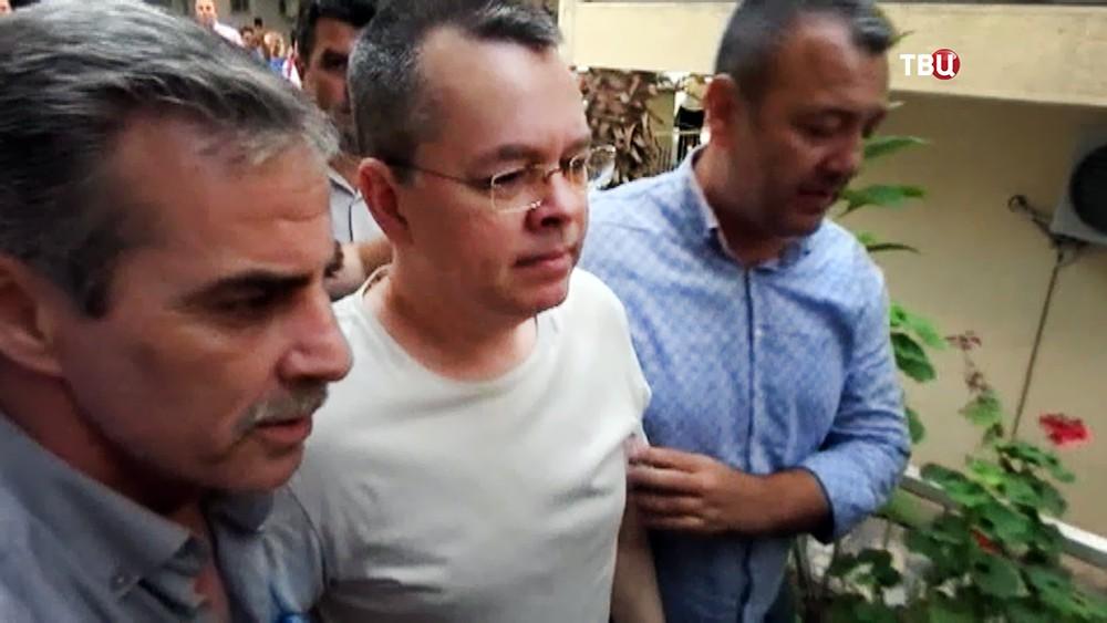Американский пастор Эндрю Брансон в Турции