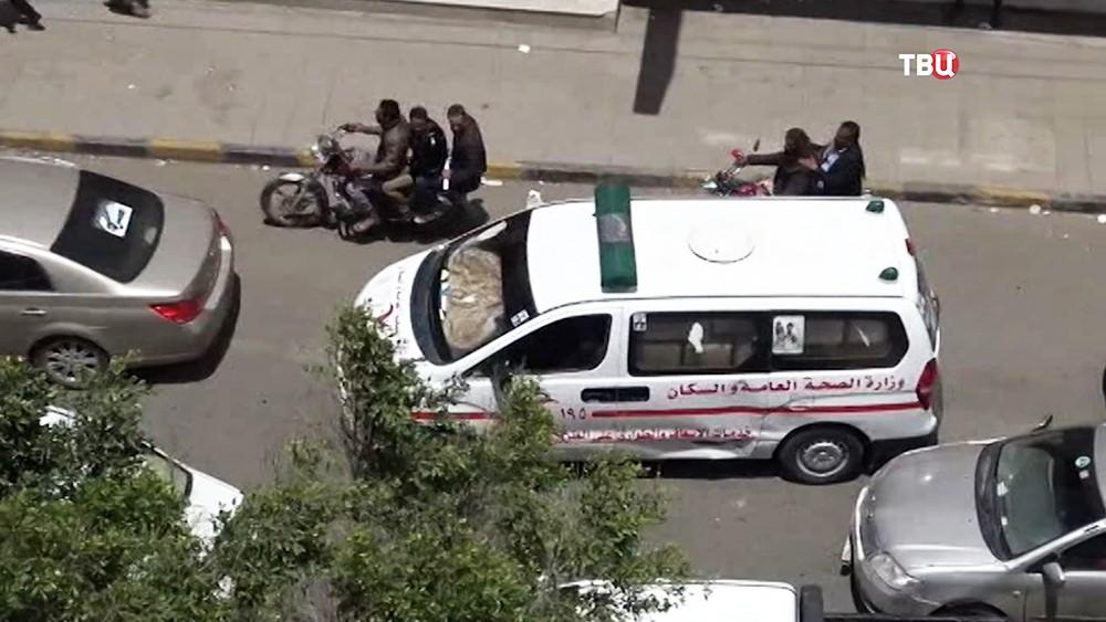Скорая помощь в Йемене