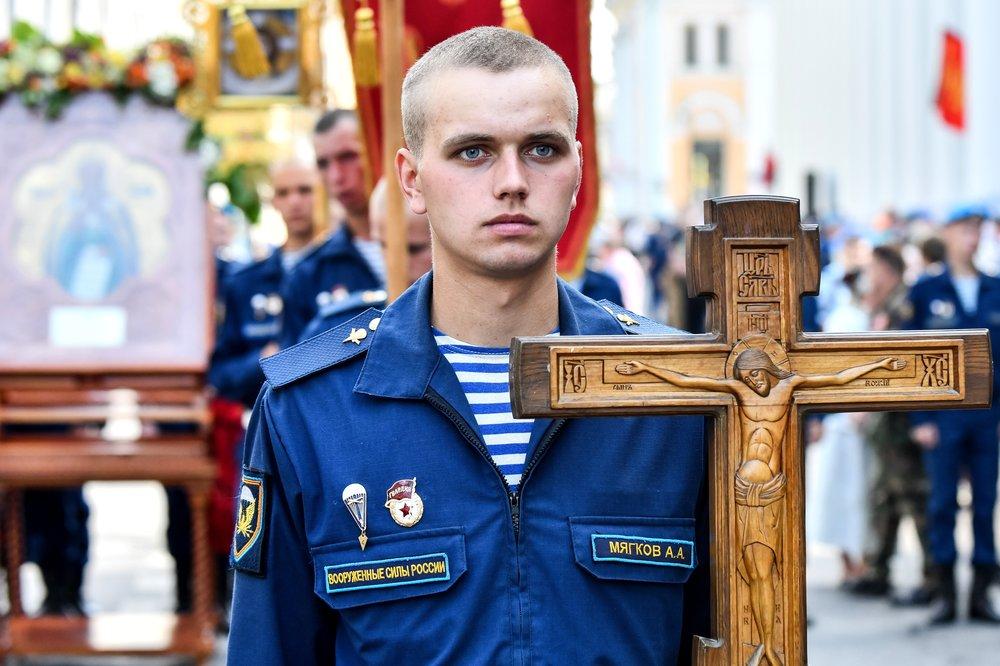 Праздничные мероприятия на Красной площади, посвященные Ильину дню, а также годовщине со дня образования ВДВ