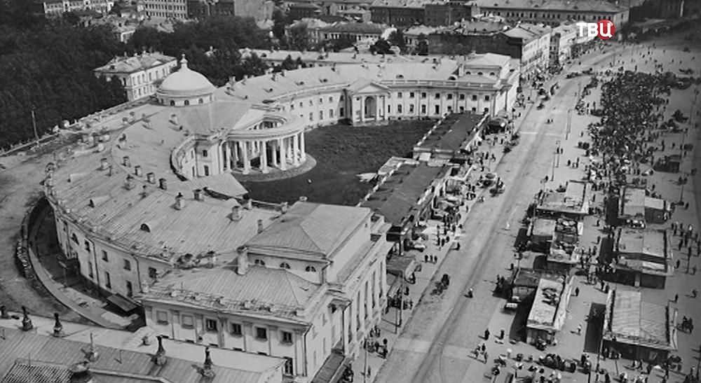 Кадры старой Москвы