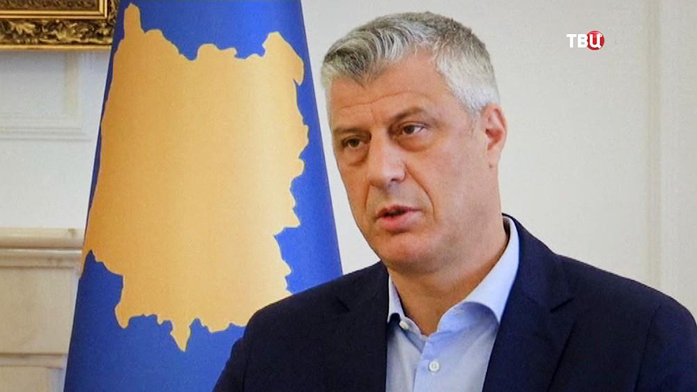 Президент Косова Хашим Тачи