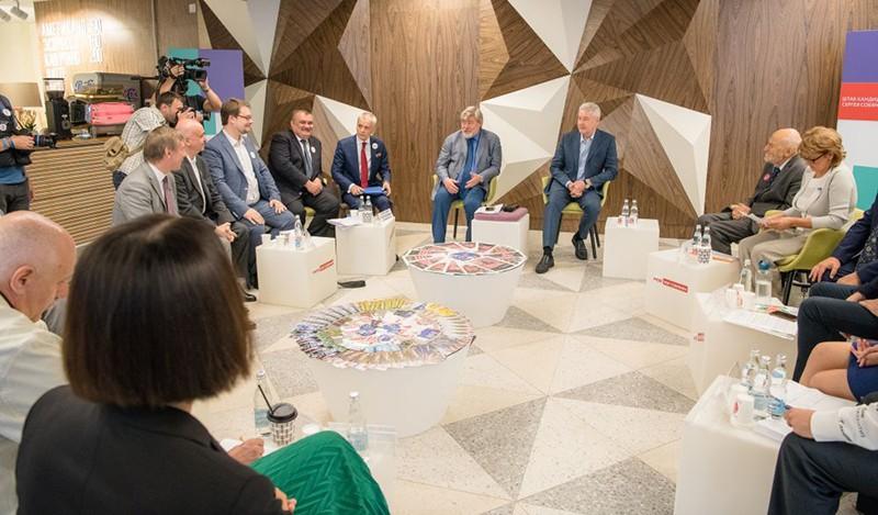 Встреча Сергея Собянина с экспертами