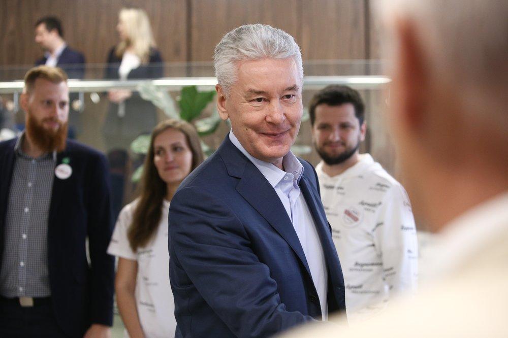 Круглый стол по вопросам экологии в штабе кандидата в мэры Москвы С.Собянина