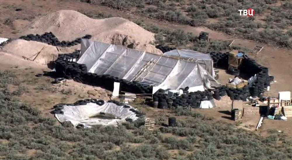 Лагерь в США