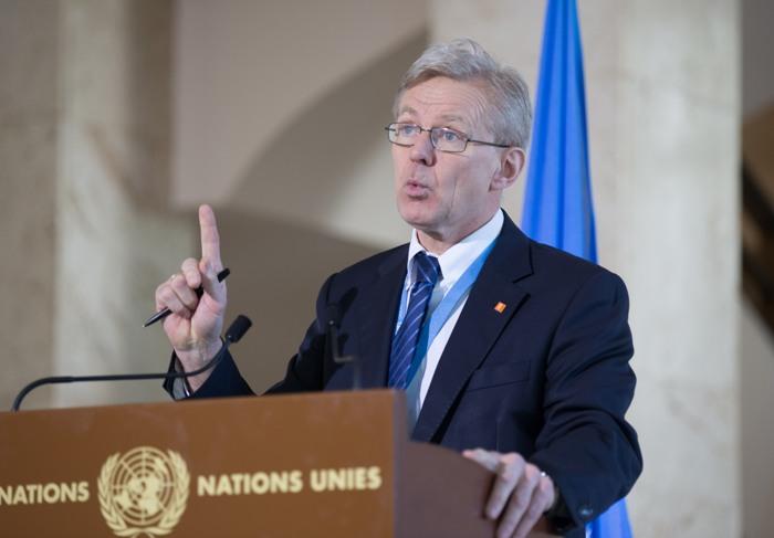 Советник спецпосланника генерального секретаря ООН по Сирии Ян Эгеланн