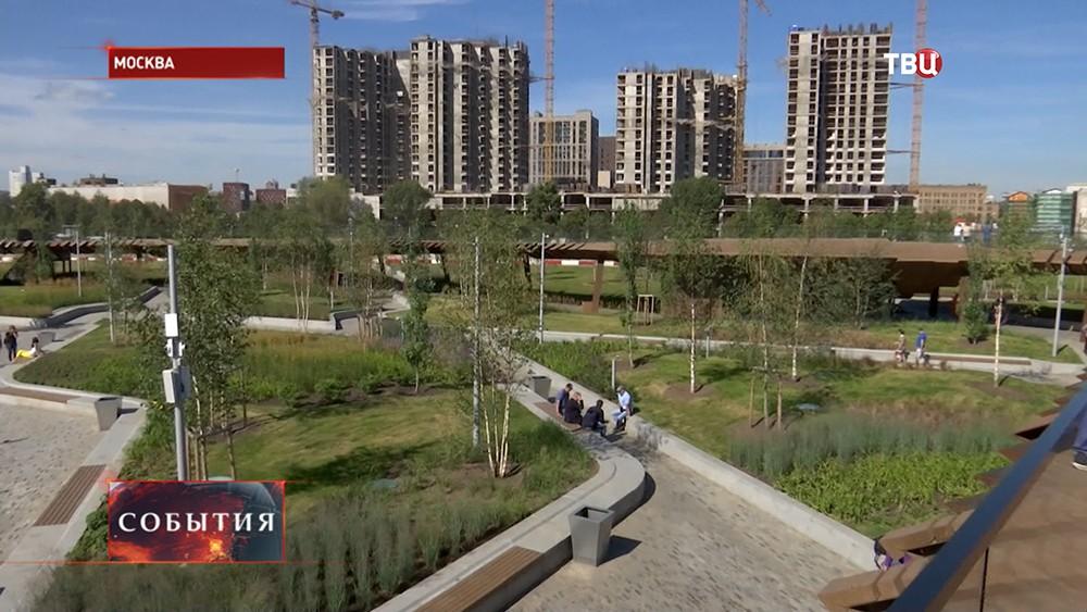 Ландшафтный парк на территории бывшего завода ЗИЛ
