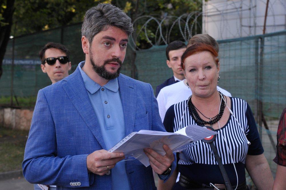 Встреча кандидата в мэры Москвы Ильи Свиридова с жителями столичного района Южное Медведково