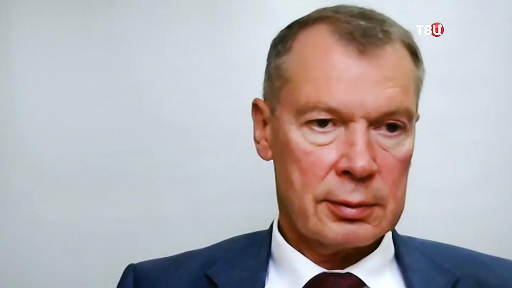Постпред России при ОЗХО Александр Шульгин