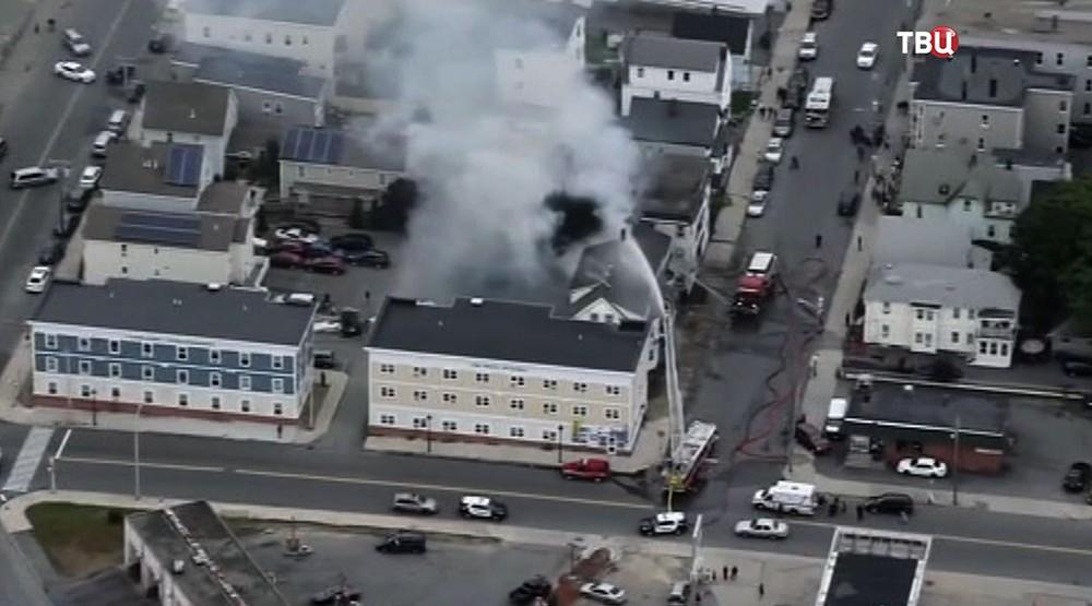 Утечка газа в Массачусетсе