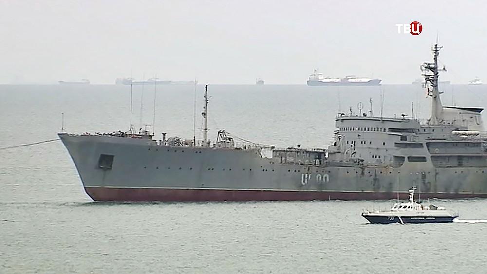 Украинские корабли в Керченском проливе