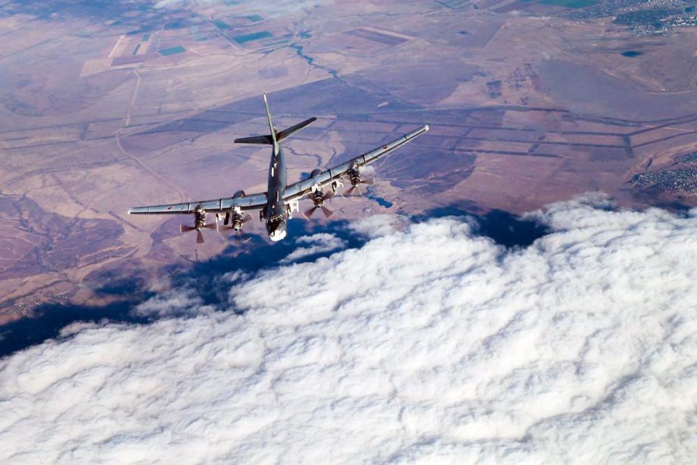 Стратегические ракетоносцы Ту-95МС дальней авиации ВКС России