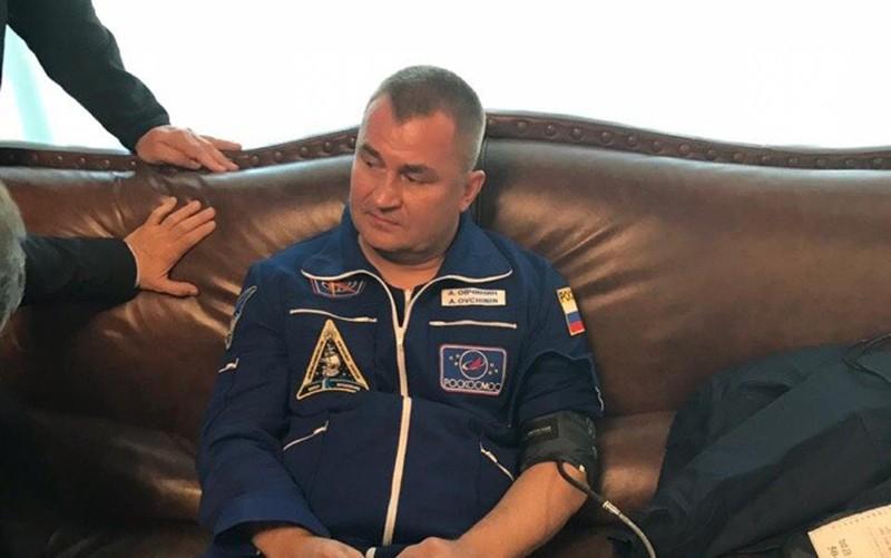 Космонавт Алексей Овчинин
