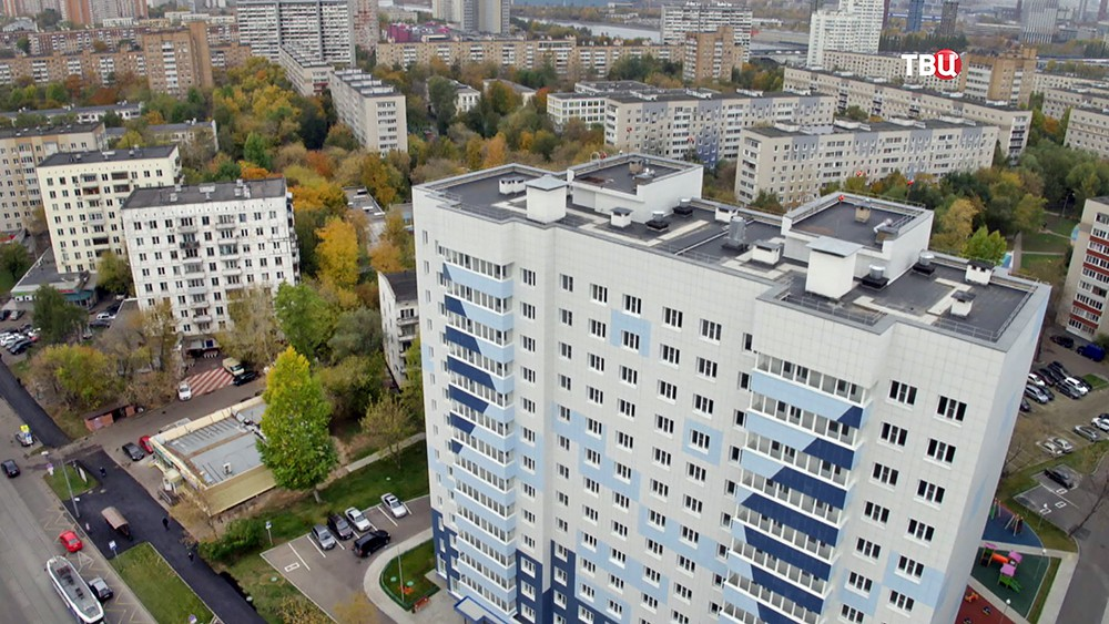 Дом под заселение по программе реновации в Москве