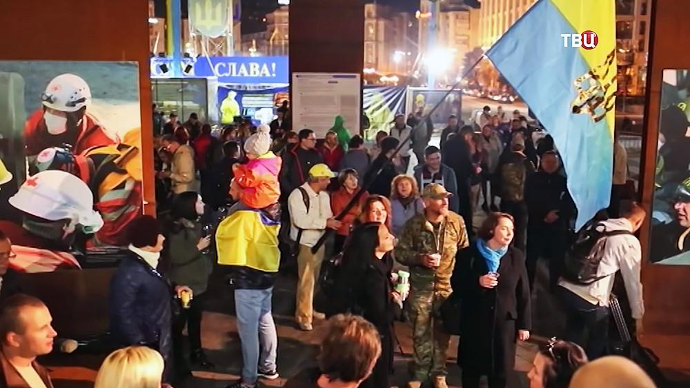 Благодарственная молитва за автокефалию на Майдане