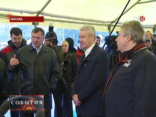 Сергей Собянин открыл Алабяно-Балтийский тоннель