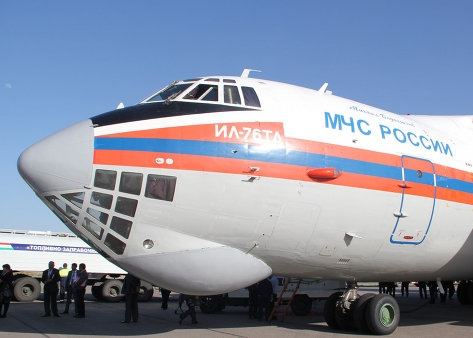 В Сирию для эвакуации россиян вылетел борт МЧС