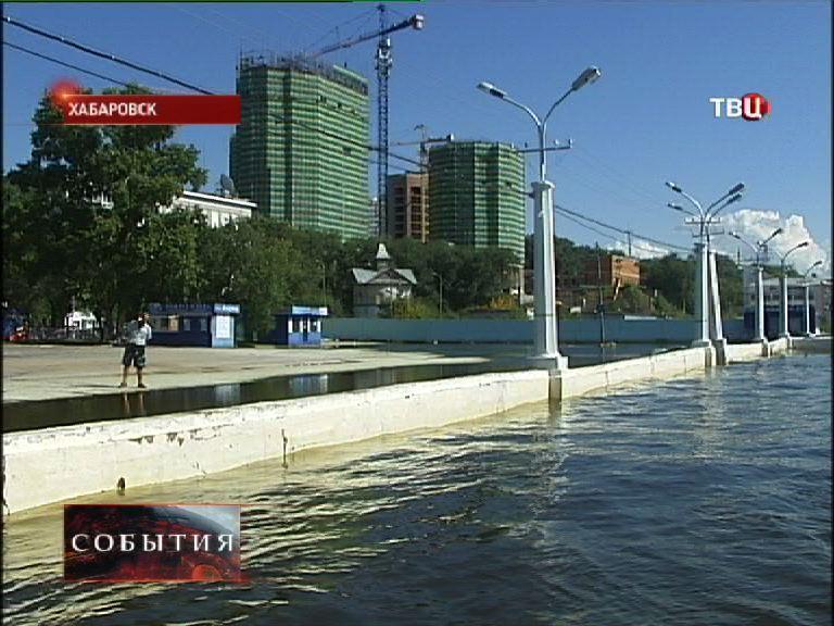 Уровень Амура в районе Хабаровска понизился на 15-20 см