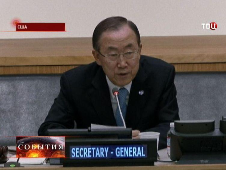 Пан Ги Мун представит Совбезу ООН результаты расследования химатаки в Сирии