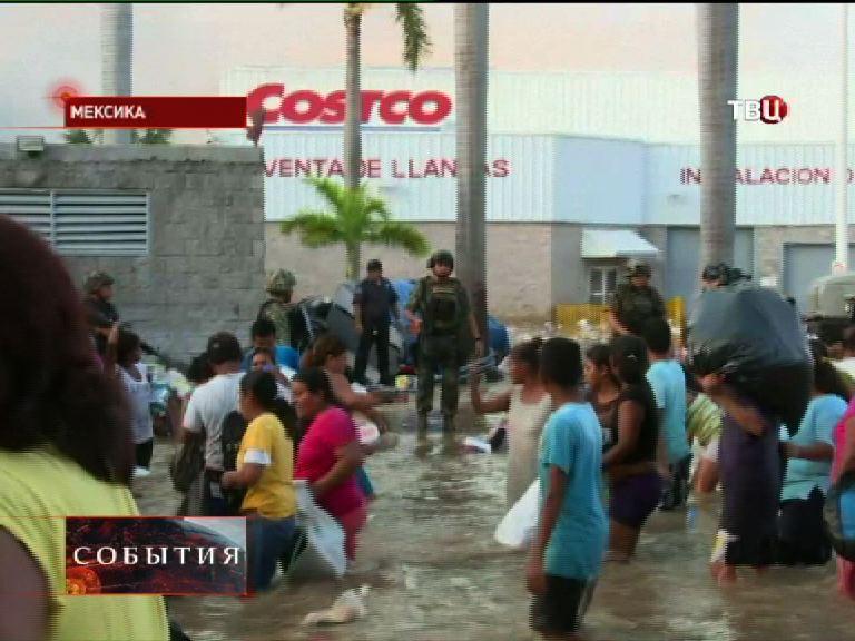 Более миллиона человек пострадали от ураганов в Мексике