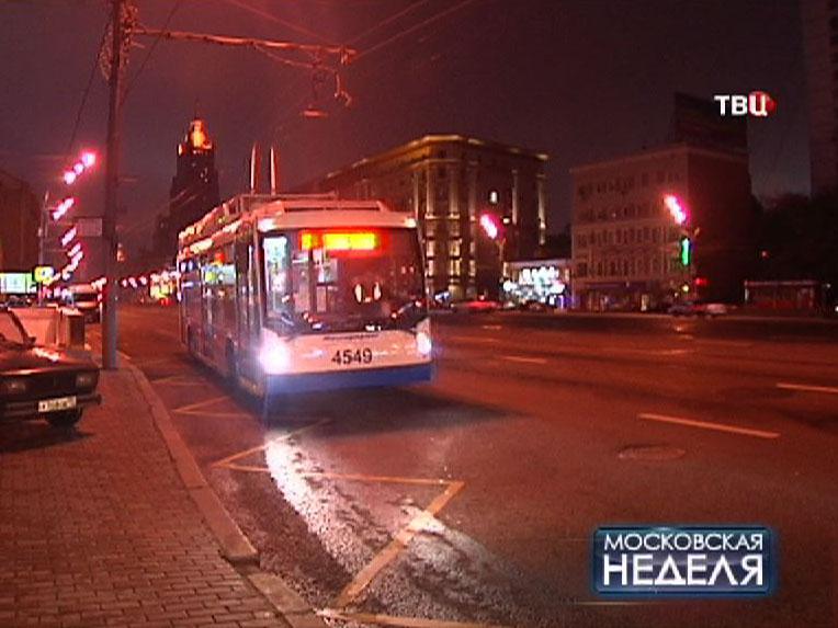 Ночной маршрут для припозднившихся москвичей