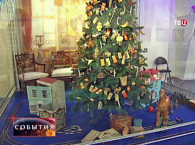 Дореволюционная рождественская ёлка