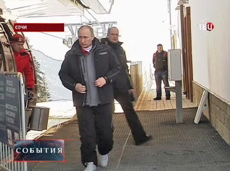 Владимир Путин в Сочи
