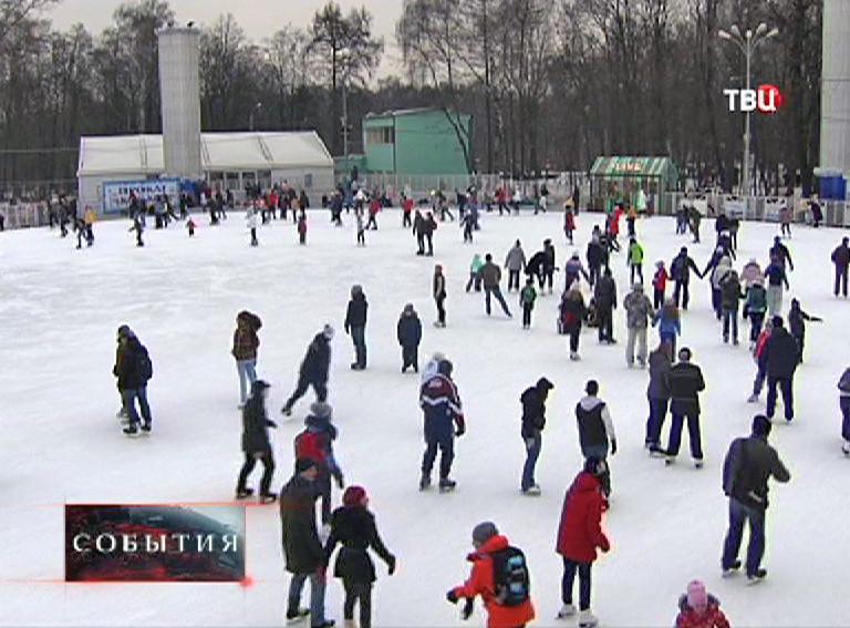 """Каток в парке """"Сокольники"""""""