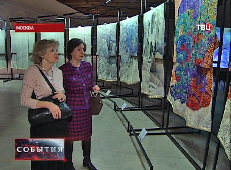 Выставка кимоно в московском Манеже