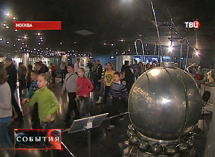 Посещение музея космонавтики